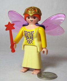 Playmobil Golden Christmas angel figure with harp New dollshouse//Victorian