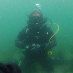 My scuba gear doing its job