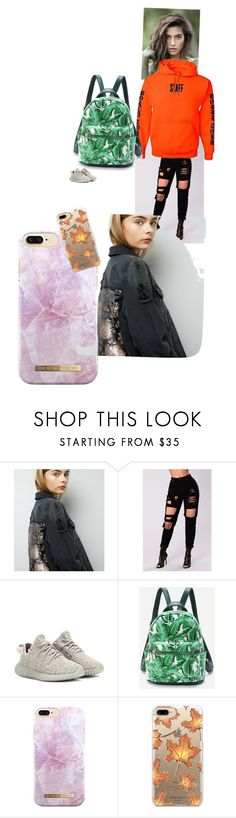 """""""Untitled #16"""" by joliebarnes1 on Polyvore featuring New Look, adidas Originals and Casetify"""