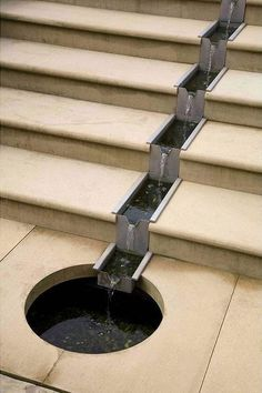 Stairs Water feature