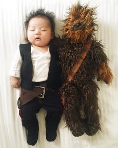 Pendant qu'elle dormait à poings fermés, Joey est devenue Han Solo… | Cette…