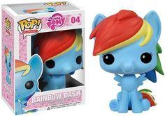 Funko - Figurine My Little Pony - Rainbow Dash Pop 10cm - 0830395033815