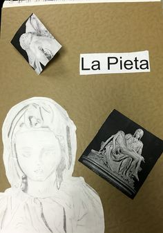 3D Visual Journal #4 - Michelangelo and Friends - NGHS room 406