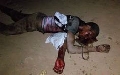 Across Africans News Updates: Alleged Thief Beaten To Stupor By Angry Mob: (Grap...