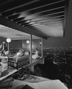 Stahl House L.A. Pierre Koenig.