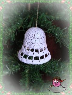 Looking for your next project? You're going to love Crochet christmas bell ornament pattern by designer zica.