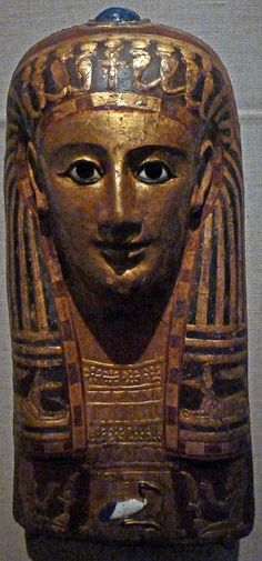 Egypt - Roman Ptolemaic - bce 1c to 1c ce - Womans Mummy Mask