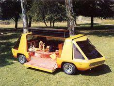 Kombi Motorhome, Campervan, Vw T1, Volkswagen, Original Batmobile, Pontiac, Cool Vans, Weird Cars, Custom Vans