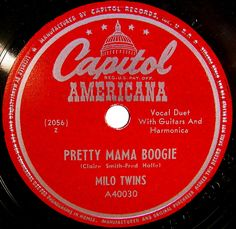 Capitol Americana vintage record label by SCVHA, via Flickr