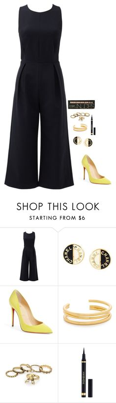 """Untitled #589"" by h1234l on Polyvore featuring Rebecca Minkoff, Chanel, Christian Louboutin, Madewell and Yves Saint Laurent"