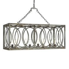 Rustic Chandelier on farmhouse dining room lighting