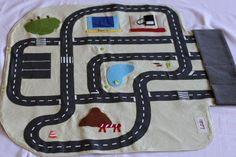 Pochette circuit de voitures