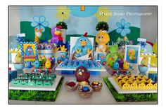 Galinha Pintadinha Birthday Party Theme Chickens Kids Boy Girl