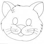 cat mask coloring page Printable Animal Masks, Cat Mask, Felt Patterns, Cat Crafts, Felt Animals, Card Making Templates, Mask For Kids, Preschool Activities, Puppets