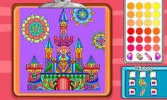 jogar Virtual Mandala Coloring Book online
