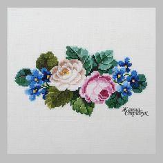 ru / 301016 - 301016 - pustelga - My site Wool Embroidery, Cross Stitch Embroidery, Embroidery Patterns, Cross Stitch Patterns, Cross Stitch Cards, Cross Stitch Rose, Cross Stitch Flowers, Magnolia Flower, Crochet Stitches
