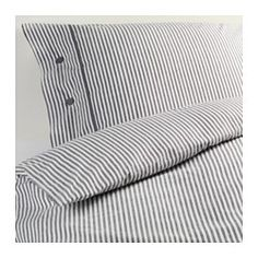 Bettwäsche 200x200 Ikea nyponros duvet cover and pillowcase s gray duvet fabric covered