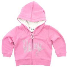 Kleding :: Hoodies :: Babyhoody Full Zip Roxy Mister Hood Baby Pink - GROM Online Tienerkleding Kinderkleding en Kinderschoenen.