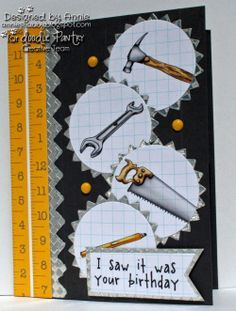 CARDS-Tools on Pinterest | Fathers Day Cards, Masculine Cards and ...