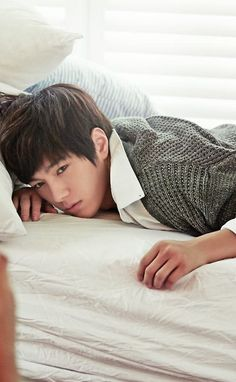 L (MyungSoo) ♡ #INFINITE #KPOP  - Ceci Magazine November Issue '13
