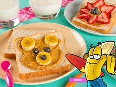 Comidas saludables para niños de preescolar