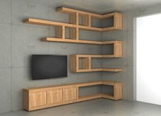60 Best Of Corner Shelves Ideas 009 60 Best Of Corner Shelves Ideas 008 Corner Shelf Design, Bookshelf Design, Wall Shelves Design, Corner Shelves, Living Room Tv Unit, Living Room Shelves, Living Room Decor, Home Office Decor, Diy Home Decor