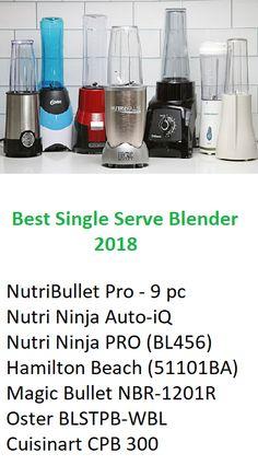 After testing seven blenders for over 40 hours, we've determined that the NutriBullet - Pro 900 Series is the best personal blender. See our full review here: https://www.blenderfair.com/best-single-serve-blender/