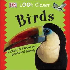 We have this book as a hard back book...now, it is available through as one of the titles of books for children that you can read online for free from We Give Books.Org called Look Closer: Birds. Very nice book!