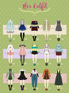 (OPEN 2/15) CHEAP Casual Outfit 04 by Rosariy