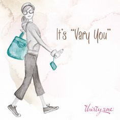 """Our """"Vary You"""" collection will help you be the best you....it was designed so that YOU choose how to carry it.  Need more space later in the day?  Open it up.  Need to carry it a different way?  Change the straps & carry on one-shoulder, cross-body or backpack style."""