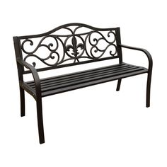Best Selling Home Decor 48.42 In L Patio Bench @ Loweu0027s   For The Front Of  The House | Yard Work | Pinterest | Patio Bench, Patios And Gardens