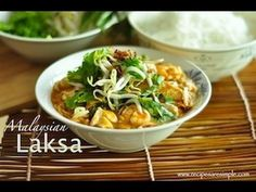 Malaysian Laksa - A Laksa Recipe for the masses. The spice paste is just right!!! You can combine store brought paste or start from scratch.