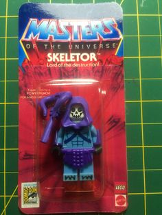 Master of Universe #lego #motu #heman #skeletor #custom…