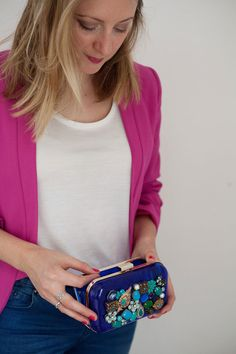 Lotts and Lots | DIY and creative living for the modern maker: DIY - jewel box clutch