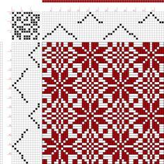 Hand Weaving Draft: Page 156, Figure 14, Bindungs-Lexikon für Schaftweberei, Franz Donat, 12S, 12T - Handweaving.net Hand Weaving and Draft Archive
