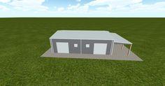 3D #architecture via @themuellerinc http://ift.tt/2pvg5nb #barn #workshop #greenhouse #garage #DIY