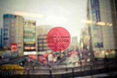 Osaka + Tokyo by JimmyTan Big Design, Design Art, Graphic Design, Design Ideas, Beyond The Border, Font Art, Property Design, Red Sun, Print Packaging