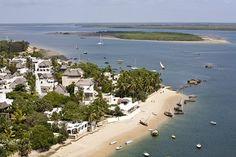 Shela, coastal village at the kenyan coast