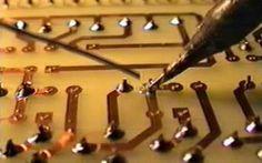 Realización práctica de un circuito impreso