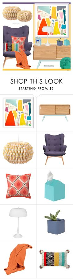 """""""Untitled #2471"""" by liliblue ❤ liked on Polyvore featuring interior, interiors, interior design, home, home decor, interior decorating and Scapa Home"""