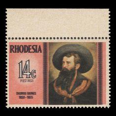 Rhodesia 1975 (Variety) 14c Thomas Baines