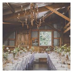 Who's holding their wedding at @sudburynz? Look how stunningly rustic their venue looks at this wedding captured by @clipicphotography!