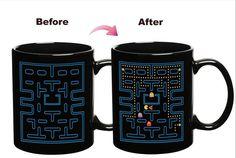 Mudança de cor caneca de Cerâmica criativa Lâmpada presentes cerâmica Bone China…
