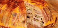 Karácsonyi fogások: 10 húsétel, amit imádni fog a vendégsereg - Receptneked.hu - Kipróbált receptek képekkel Hungarian Recipes, Party Snacks, Meatloaf, Meat Recipes, Bacon, Pork, Turkey, Food And Drink, Dishes
