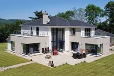 Self-builders around the world are creating energy-efficient homes to ensure low running costs. In Ireland, a certification benchmark is Passivhaus. Dream Home Design, Home Design Plans, Modern House Design, House Designs Ireland, House Construction Plan, L Shaped House, Energy Efficient Homes, Energy Efficiency, Ireland Homes