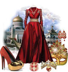 """Majestic Masquerade by Sheniq"" by sheniq ❤ liked on Polyvore"