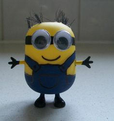 Kinder Egg Minion Craft