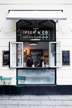 Ipsen & Co A cute little coffee shop that serves good coffee, fresh ciders and simple breakfast. after breakfast you should take a look at all the beautiful shops on Gammel Kongevej.