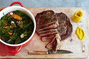 Recipes from Meals Jamie Oliver 15 Minute Meals, Steak, Beef, Projects, Recipes, Food, Log Projects, Meal, Food Recipes