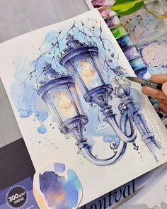 """THE BEST WATERCOLOR ARTISTS on Instagram: """"Beautiful work! What do you think? 🎨 Artist: @xtina_gavrilova_art 🔹🔸🔹 🎯 Follow my blog@alex.raxvell 💡 I will help you grow your art…"""" Watercolor Artists, Watercolor Drawing, Watercolor Paintings, Original Paintings, Watercolors, Notebook Art, Shadow Art, Sketch A Day, Tag Art"""